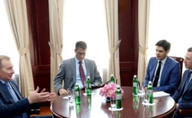 """У Мінську чергове засідання Тристоронньої контактної групи домовилось про нову """"тишу"""""""