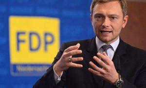 Лідер німецьких лібералів закликав заморозити суперечку про анексований Крим