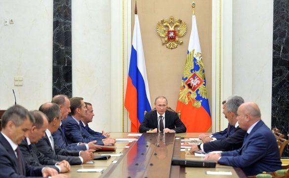 Російський президент скликав РадБез РФ через ситуацію в Україні