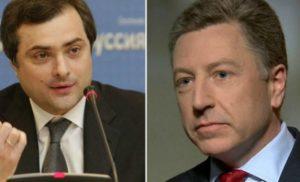 Сурков розповів про переговори із Волкером стосовно України