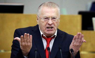 Російський політик Жиріновський гучно відреагував на звинувачення української Генпрокуратури