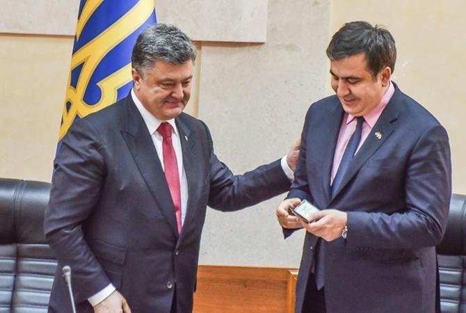 Не позбавити Саакашвілі громадянства було б злочином – Петро Порошенко