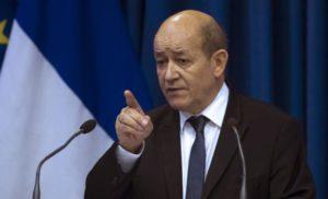 Голова МЗС Франції зустрінеться у Москві з Лавровим, щоб обговорити питання миротворців ООН на Донбасі