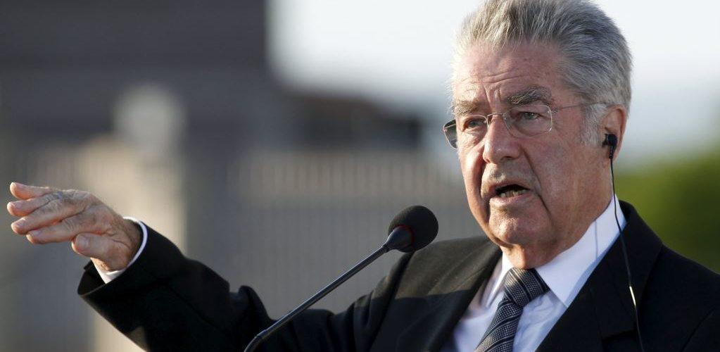 Колишній президент Австрії підтримує товариша Путіна, чешського президента у його намірах зняти санкції з РФ