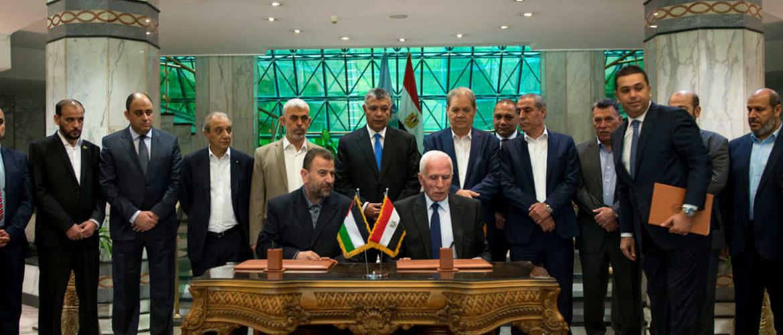 Лідери палестинських рухів вперше за довгий час домовились про єдинний уряд