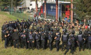 """Поліція склала протоколи на організаторів """"тітушок"""" під час прориву кордону"""