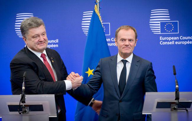 Порошенко поспілкувався з Туском та подякував за підтримку України