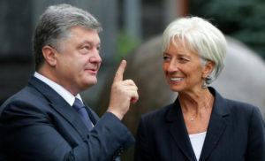 Порошенко у Давосі провів зустріч із головою МВФ Лагард