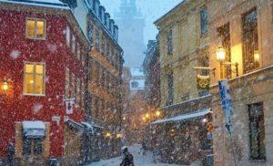 Європу засипало сильним снігопадом: яскраві фото