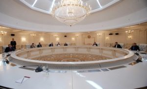 У Мінську почалося засідання контактної групи щодо Донбасу