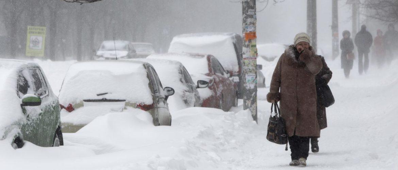 Україна зустріне весну сильними снігопадами і хуртовинами