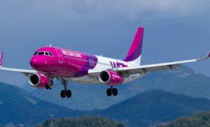 У 2018 році Wizz Air відкриє чотири нові рейси зі Львова