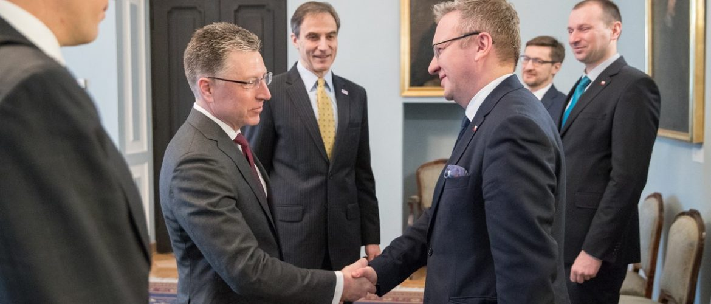 Волкер та голова канцелярії президента Польщі обговорили протидію агресії РФ