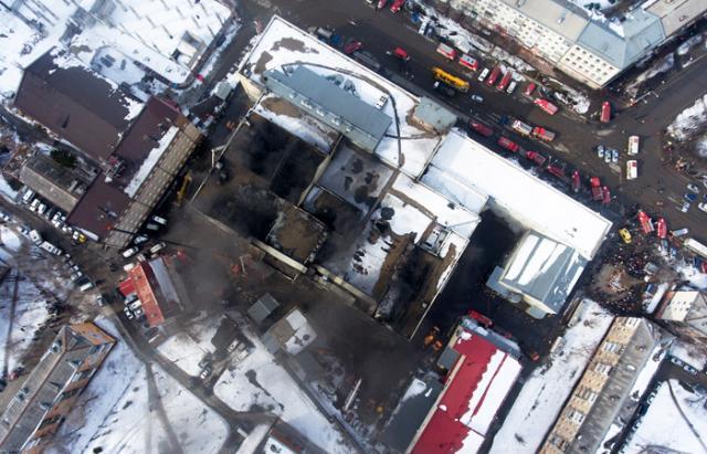 Пожежа в Кемерово: рятувальники завершили пошукову операцію
