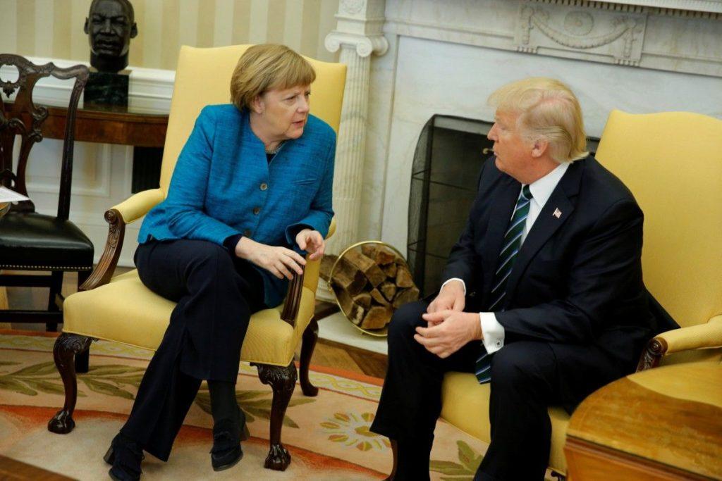 Трамп обгоровив із Меркель ситуацію у Сирії та Україні