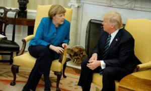 Трамп обгоровив із Меркель ситуацію в Сирії та Україні