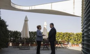 У Берліні відбуваються переговори президента України з канцлером Німеччини