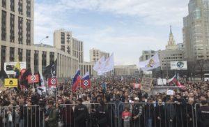 У Москві розпочався масштабний мітинг проти блокування Telegram [ВІДЕО]