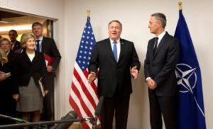 Держсекретар США Помпео, разом із МЗС країн НАТО зробили заяву щодо окупованих РФ українських земель
