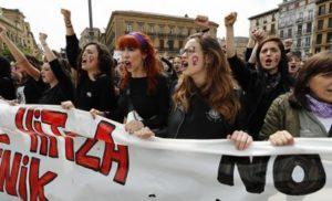 Масові протести в Іспанії через рішення суду Памплони