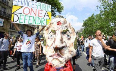 У Франції майже 140 тисяч людей узяли участь у протестах проти нової реформи