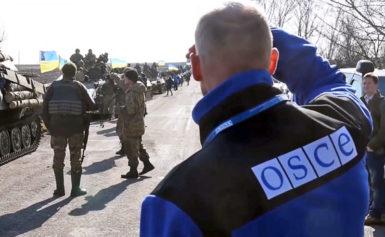 На Донбасі стався вибух біля патруля ОБСЄ