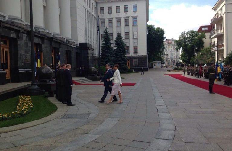 В Україну прибула президент Естонії (ВІДЕО)