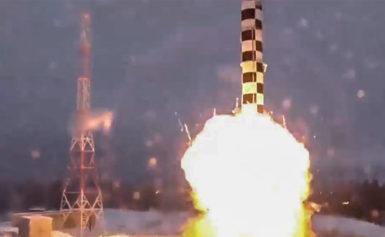 """Нова ракета Путіна з """"необмеженою дальністю"""" пролетіла лише 35 км – розвідка США"""
