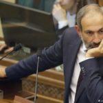 Парламент Вірменії не дивлячись на суспільний резонанс, таки не обрав лідера опозиції Пашиняна новим премьером