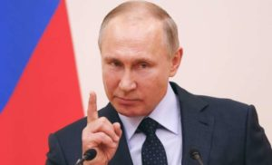 Путін висунув Україні обурливе звинувачення щодо війни на Донбасі