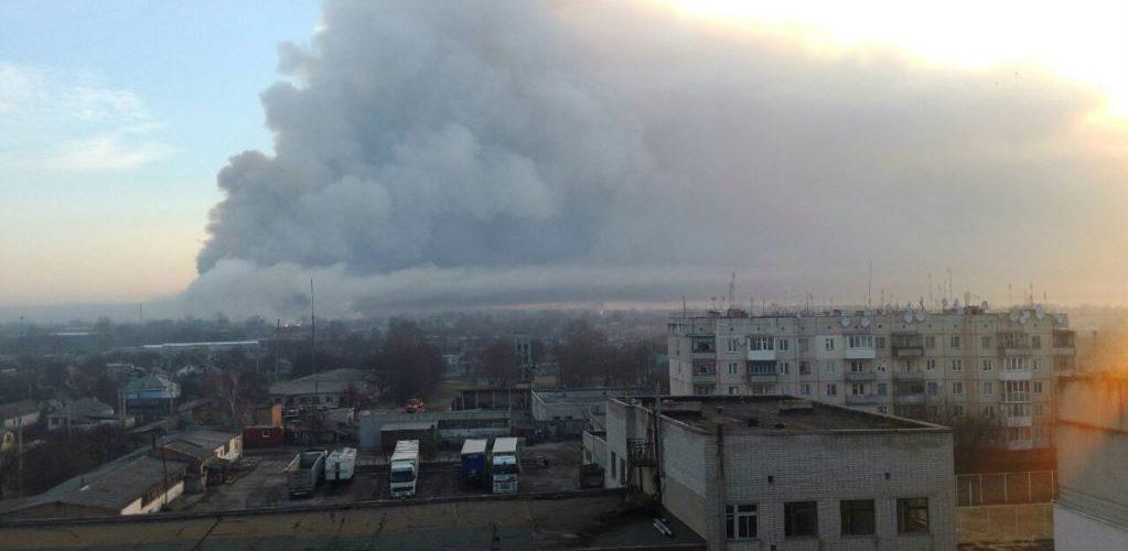У ДСНС повідомили про припинення вибухів у Балаклії