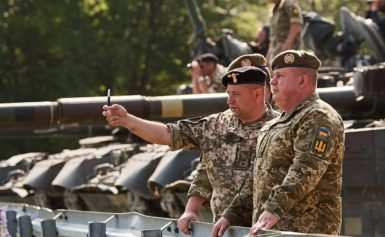 Українська команда виступила на танкових змаганнях НАТО