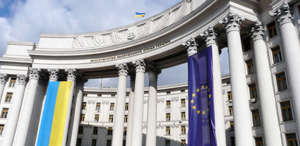 МЗС засудило незаконний візит Медведєва до окупованого Криму