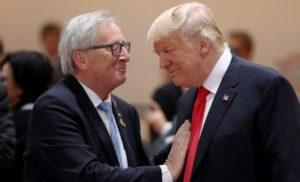 США та ЄС уникають торговельної війни – Трамп і Юнкер обіцяють рухатися до безмитної торгівлі