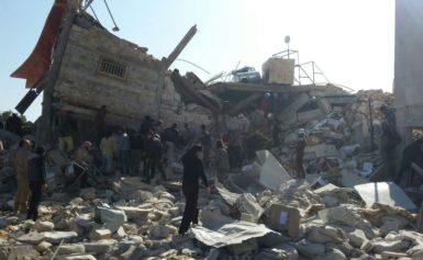 Щонайменше 10 людей загинули в Сирії, у результаті чергового авіаудару росіян по школі
