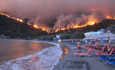 Пожежі у Греції: кількість загиблих зросла до 96 [ВІДЕО]