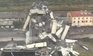 Український консул повідомив про двох постраждалих під час обвалення мосту в Генуї