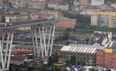 У МЗС України розповіли останні дані щодо обвалу мосту в Генуї