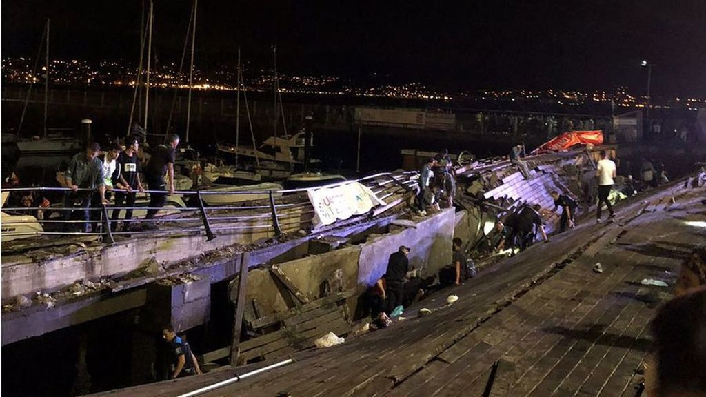 313 людей постраждало внаслідок обвалу платформи на муз фестивалі в Іспанії (ВІДЕО)