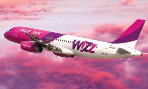Wizz Air запустить з України нові рейси в Словаччину, Польщу і Литву