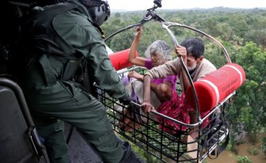 В результаті потужних повеней в Індії, кількість жертв досягла 164 осіб
