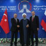 Росія, Іран та Туреччина зібрались на саміт для вирішення долі Сирії