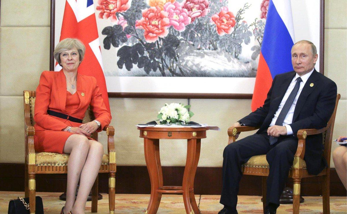 Тереза Мей навідріз відмовилась розмовляти із Путіним