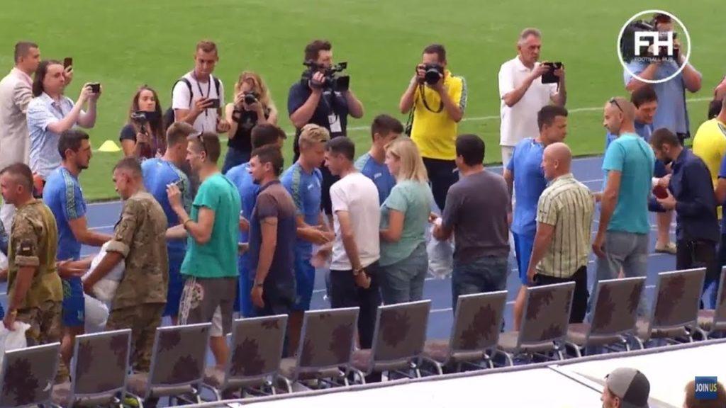 Ліга Націй УЄФА: Збірна України провела відкрите тренування та презентувла нову форму