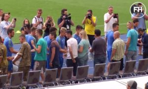 Ліга Націй УЄФА: Збірна України провела відкрите тренування та презентувала нову форму