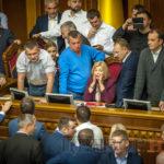 Скандал у Раді через висловлювання Соболєва на адресу Ірини Геращенко та Порошенка (ВІДЕО)