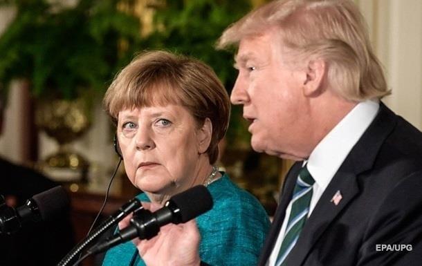 """ЗМІ дізналися про """"газові"""" поступки Меркель Трампу"""