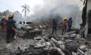 В Індонезії впав лайнер авіакомпанії  Lion Air. На борту було майже 200 людей (КАДРИ)