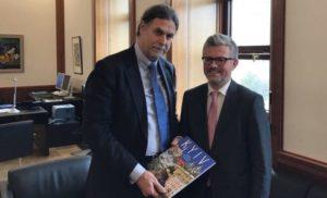 Сьогодні Держсекретар МЗС Німеччини відвідає Україну
