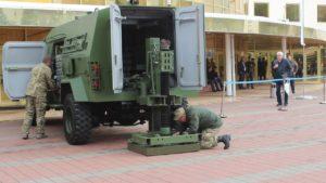"""РНБО показало суспільству кадри випробування бойової машини """"Барс-8ММК"""""""